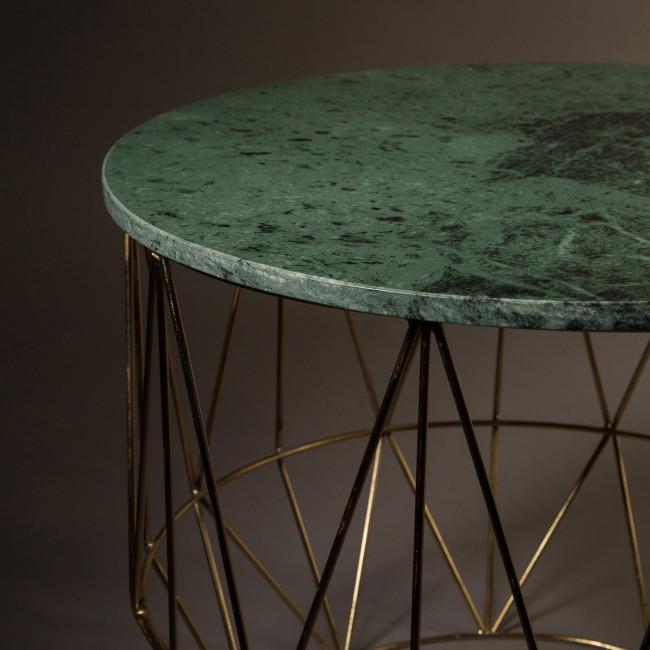 Table d'appoint marbre Boss Dutchbone
