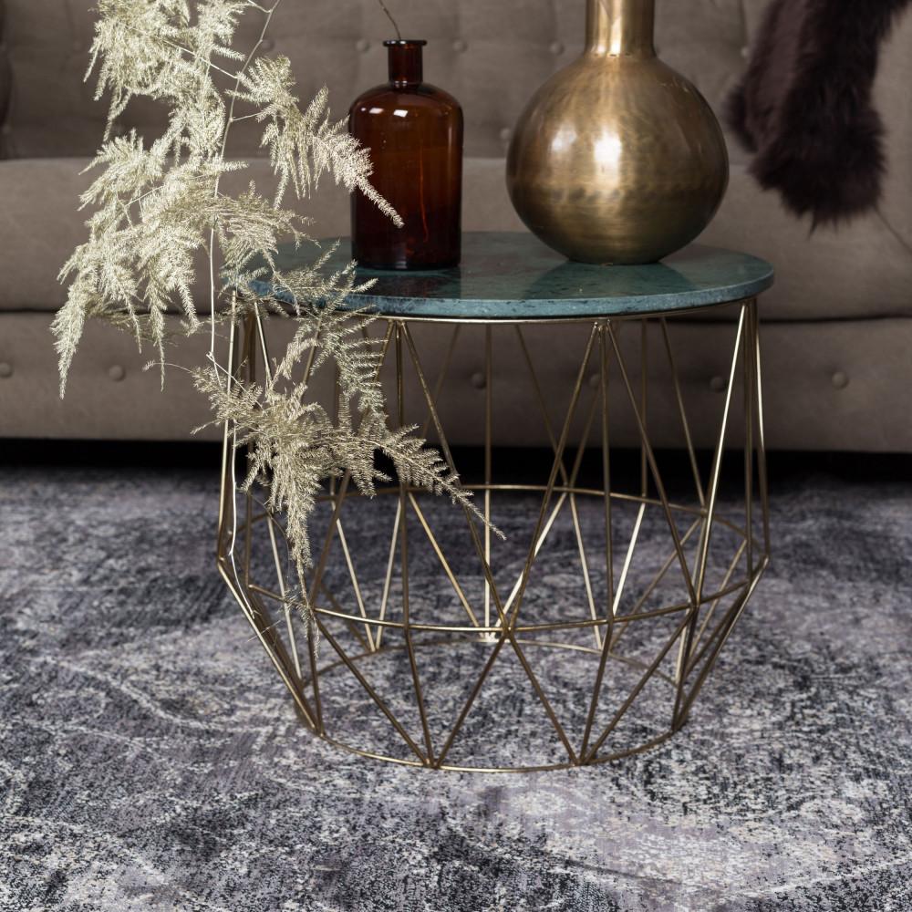 table d 39 appoint marbre boss dutchbone drawer. Black Bedroom Furniture Sets. Home Design Ideas