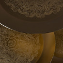 Table d'appoint métal doré Zatar Dutchbone