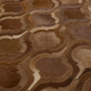 Tapis patchwork fait main marron Bawang Dutchbone