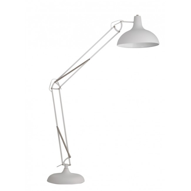 Lampadaire XL design Office blanc