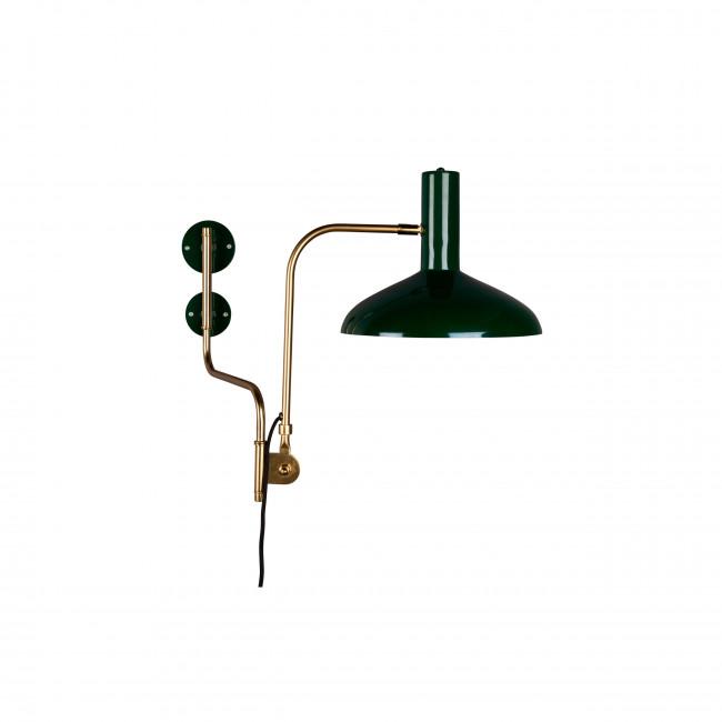 Applique vintage en métal Devi Dutchbone vert