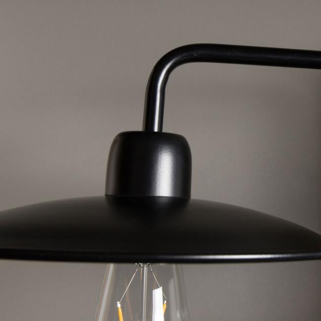 Applique design métal noir Fouk Dutchbone