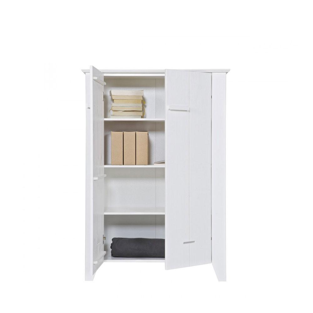 armoire blanche pin bross veer par. Black Bedroom Furniture Sets. Home Design Ideas
