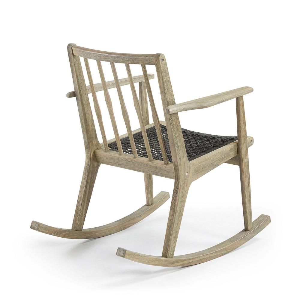 rocking chair en bois indoor outdoor milena by drawer. Black Bedroom Furniture Sets. Home Design Ideas