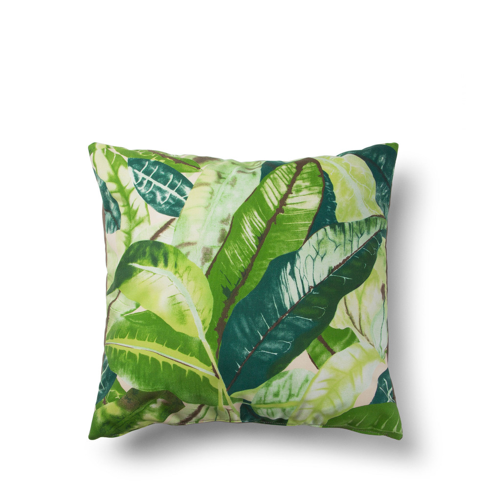coussin motifs 50x50 indoor outdoor jungle by drawer. Black Bedroom Furniture Sets. Home Design Ideas
