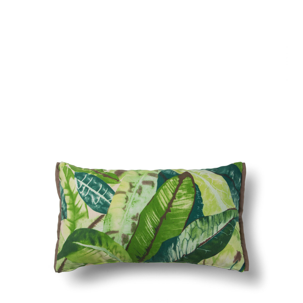 coussin motif feuille v g tale 30x50cm jungle drawer. Black Bedroom Furniture Sets. Home Design Ideas