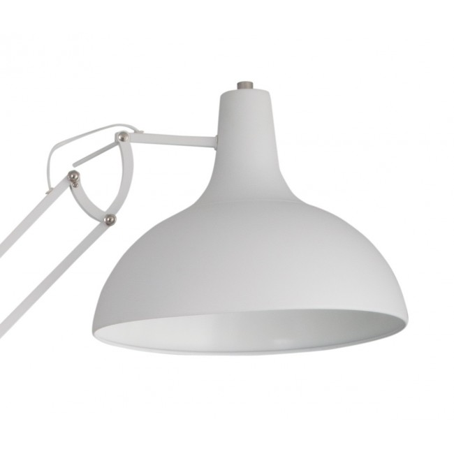 Lampadaire Big Office blanc detail
