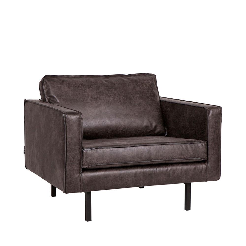 fauteuil en cuir vintage maison design. Black Bedroom Furniture Sets. Home Design Ideas