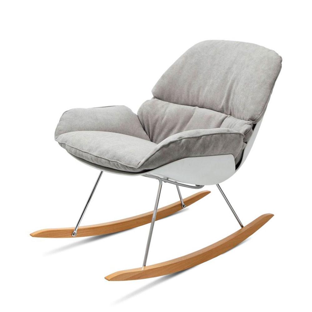 Rocking Chair Tissu : rocking chair design buddy de drawer ~ Teatrodelosmanantiales.com Idées de Décoration