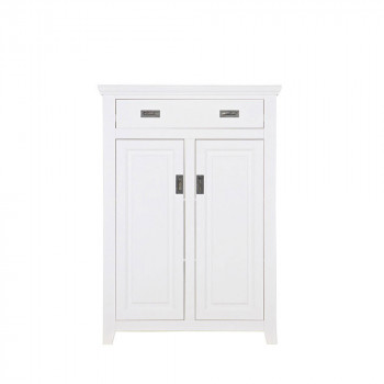porte manteau pin massif blanc perpignan by drawer. Black Bedroom Furniture Sets. Home Design Ideas