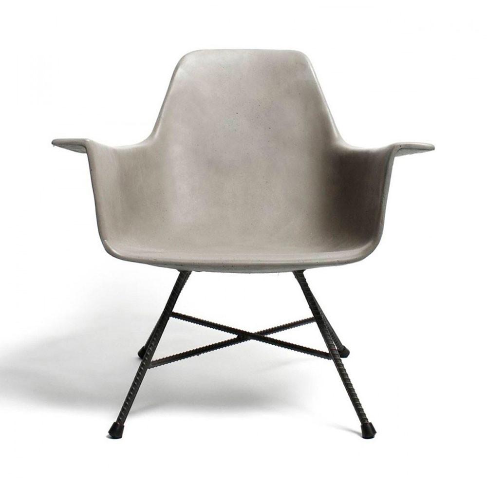 fauteuil bas design en b ton hauteville by drawer. Black Bedroom Furniture Sets. Home Design Ideas