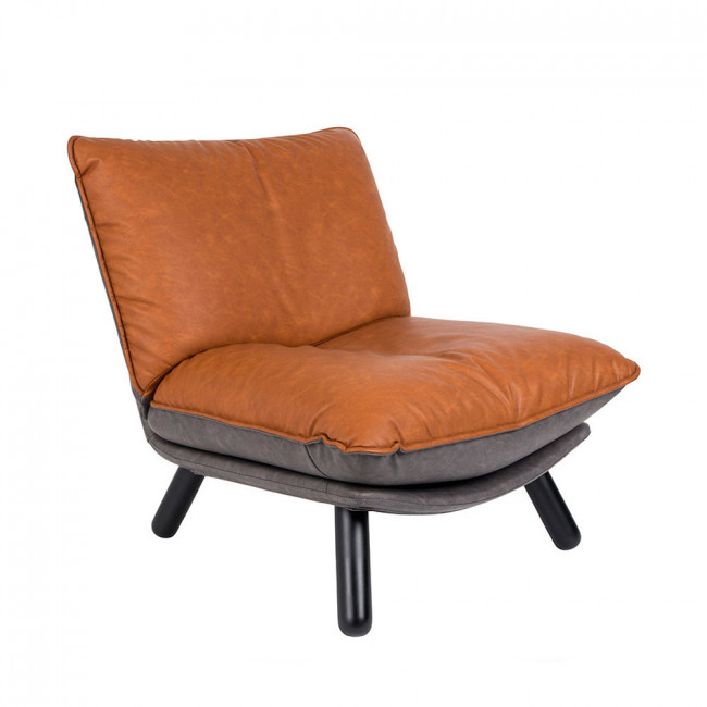 Fauteuil lounge simili cuir Lazy Sack