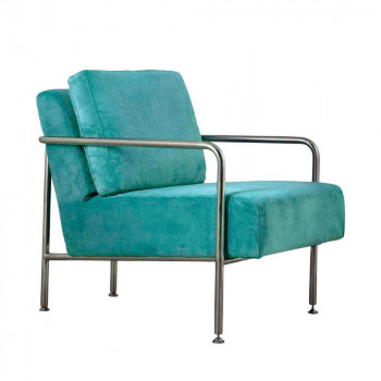 Fauteuil design X-Bang Zuiver Turquoise