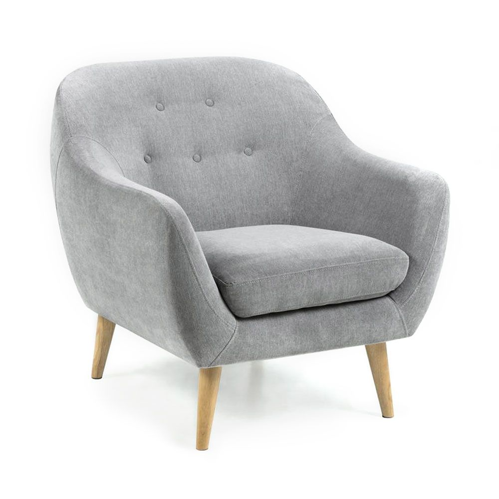fauteuille design fauteuil design scandinave tissu gris flanelle egg fauteuil design. Black Bedroom Furniture Sets. Home Design Ideas