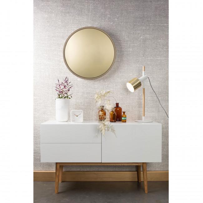 Vase en marbre Fajen Zuiver Blanc ambiance
