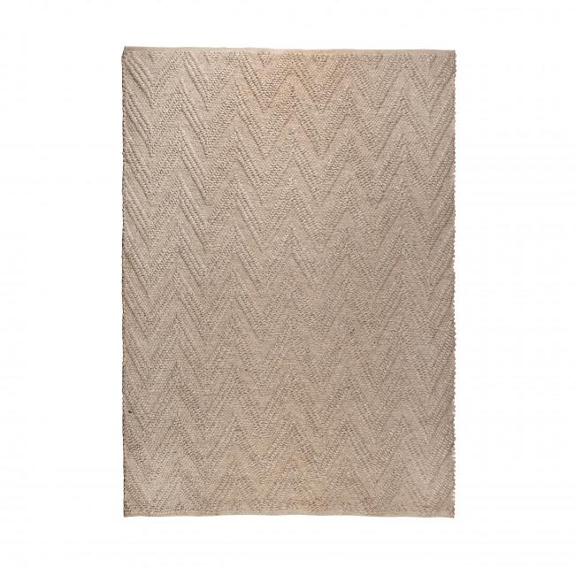 Tapis design tissé à la main beige Punja Zuiver
