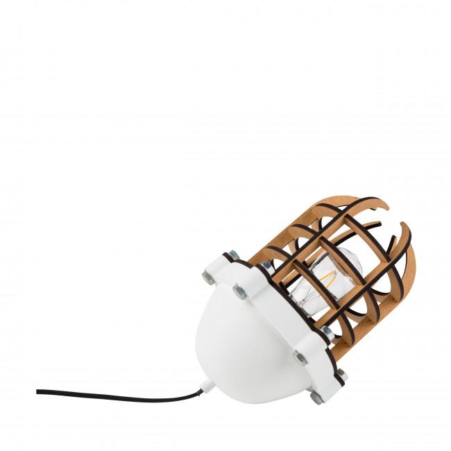 Lampe à poser métal et bois Navigator Zuiver Blanc