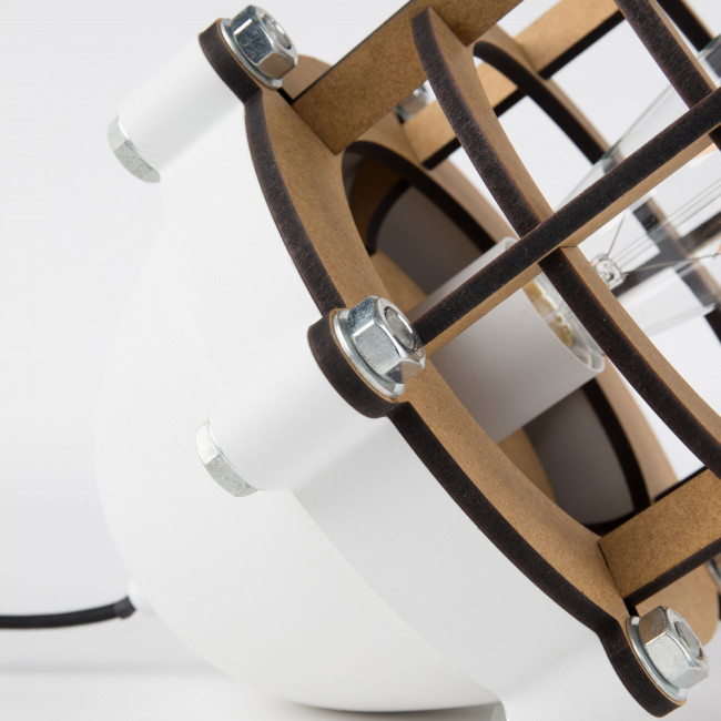 Lampe à poser métal et bois Navigator Zuiver