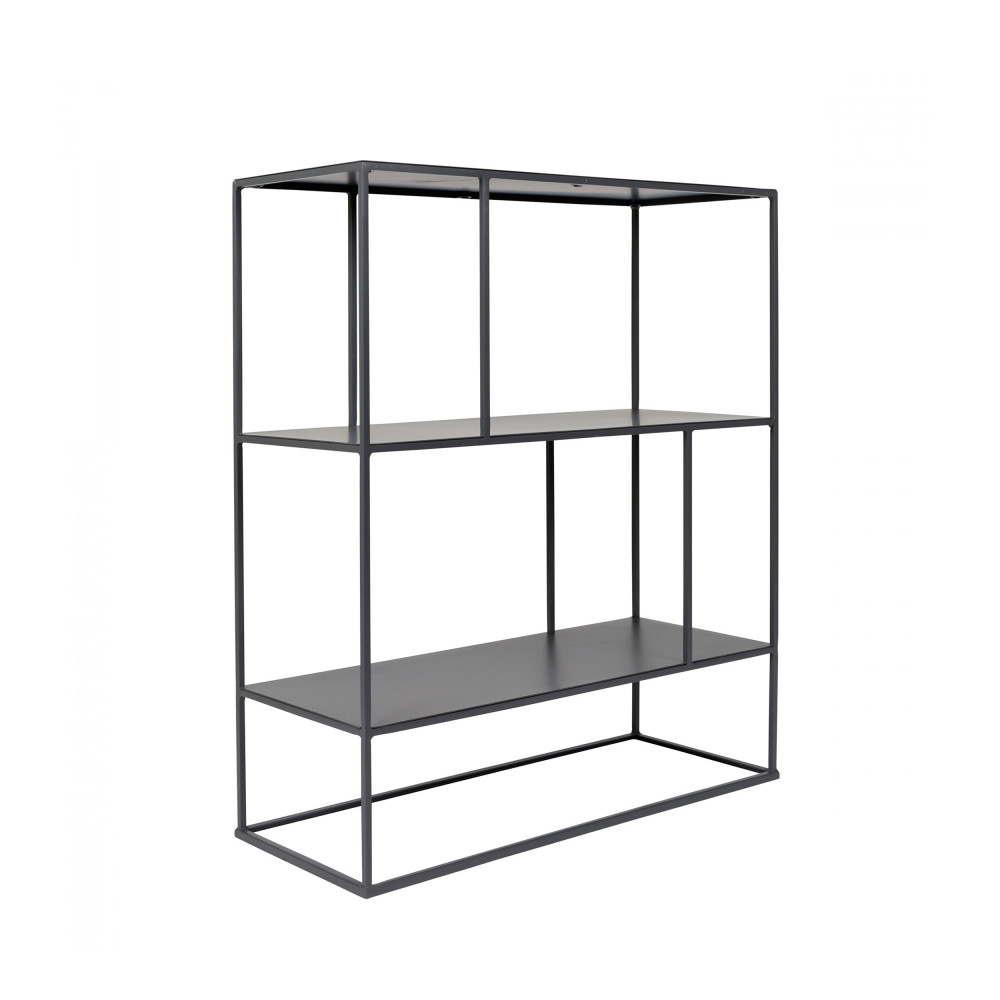 Etag re en m tal gris son zuiver drawer - Etagere metal design ...