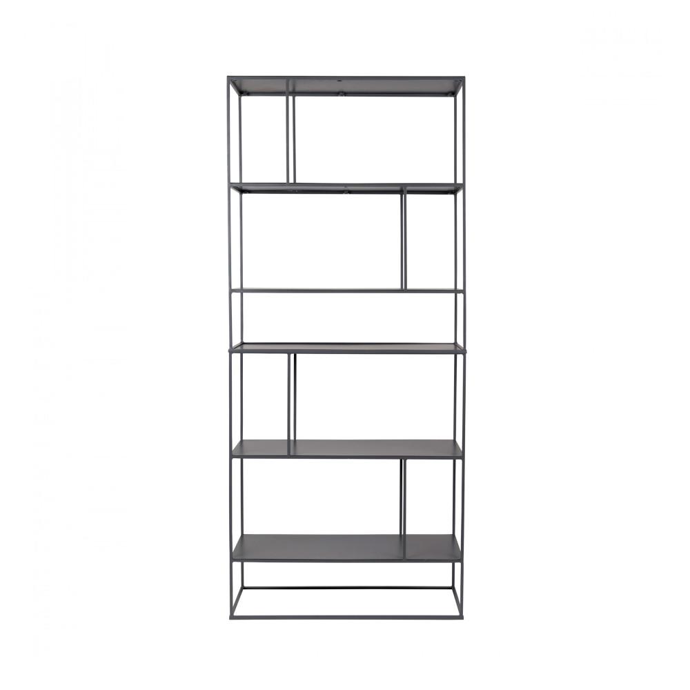 etag re en m tal gris son zuiver drawer. Black Bedroom Furniture Sets. Home Design Ideas