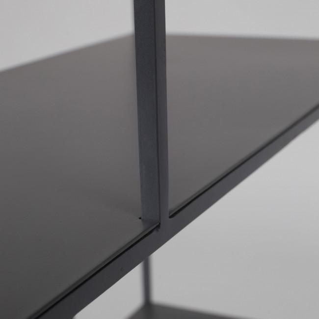 Etagère en métal gris Son Zuiver détails 2