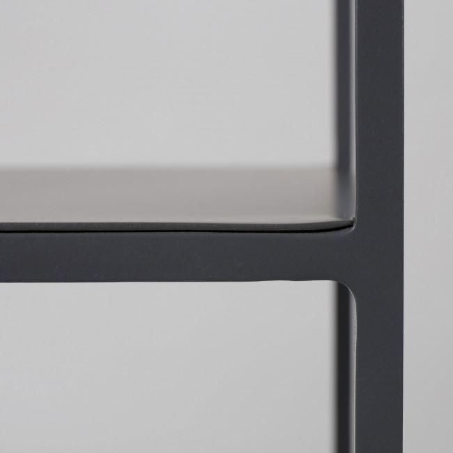 Etagère en métal gris Son Zuiver détails 4