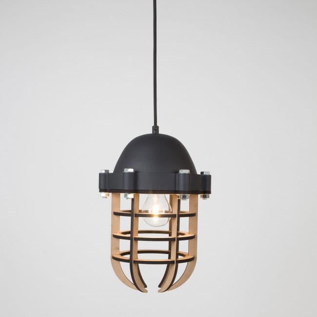 Luminaire suspension métal et bois Navigator Zuiver