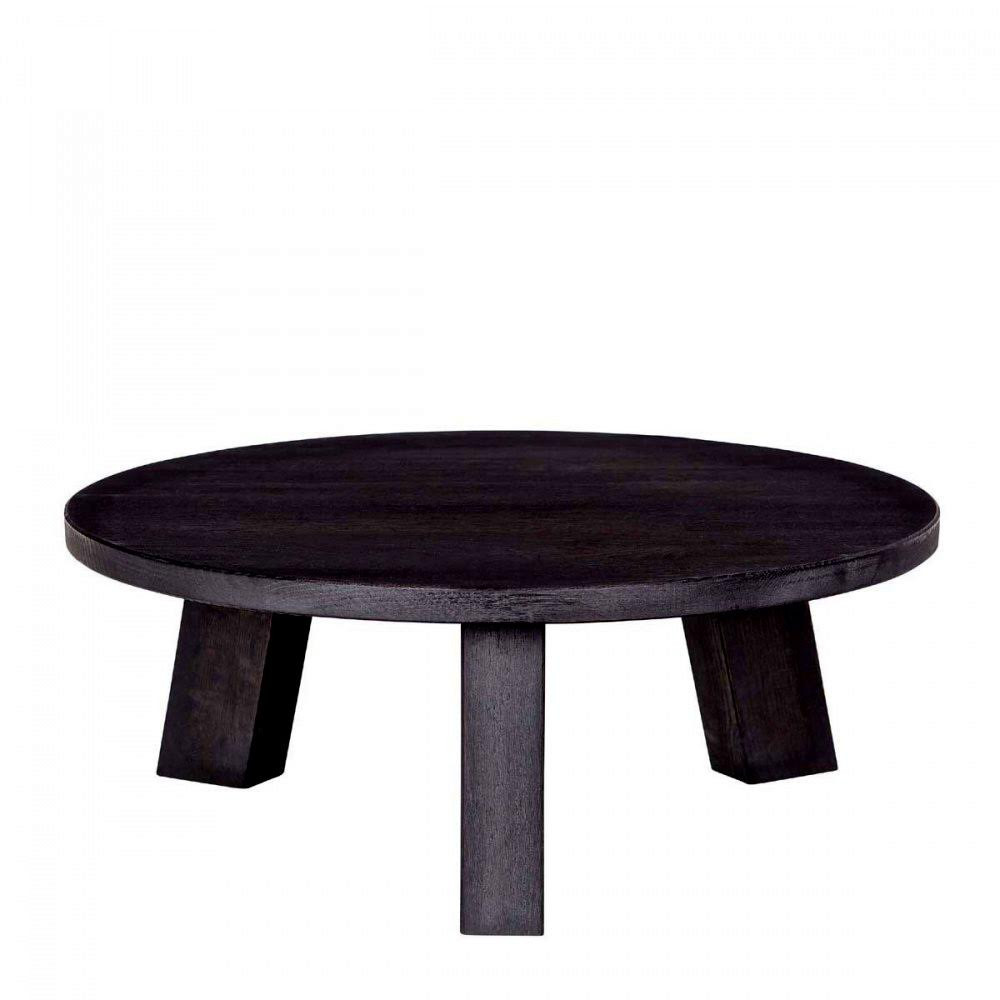 Table basse ronde en ch ne theofilus for Table ronde en chene