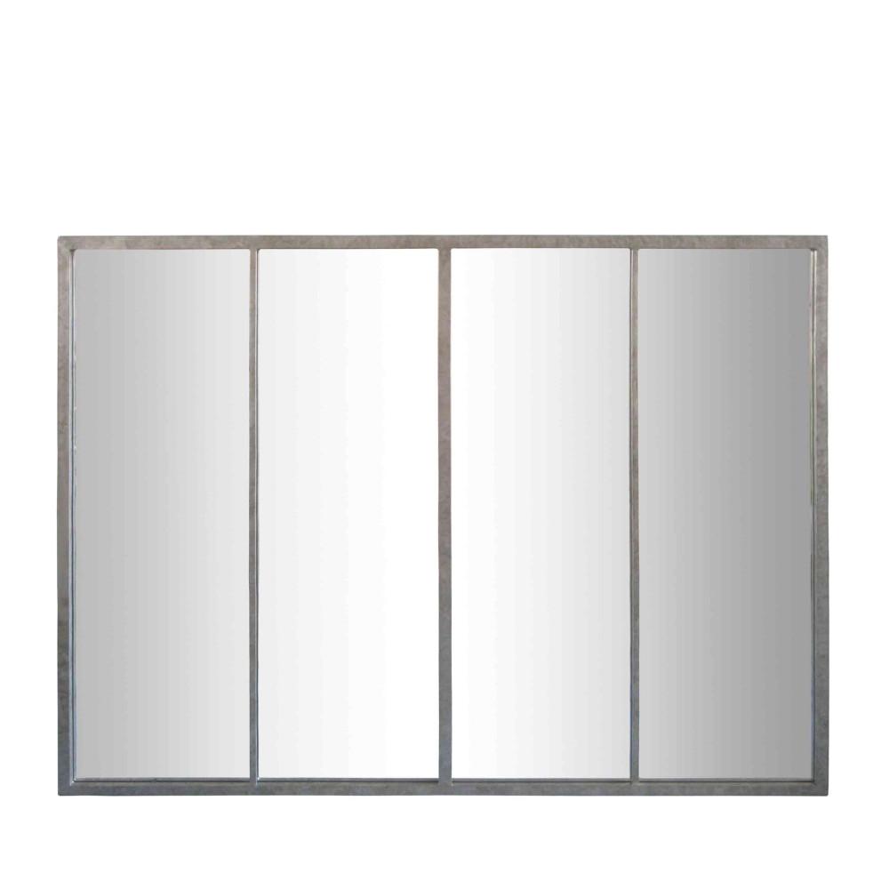 Miroir verri re zinc frank by drawer for Miroir verriere