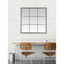 Miroir fenêtre style industriel 100x100