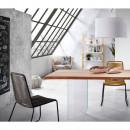 Lot de 2 fauteuils de jardin vintage Belleny en intérieur