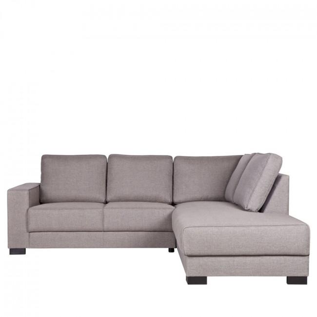 Canapé d'angle droit tissu Skive
