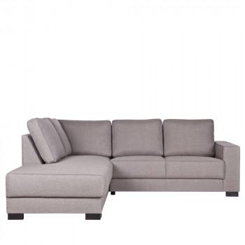 Canapé d'angle gauche tissu Skive