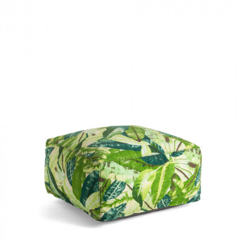 Pouf à motifs 60x60 indoor/outdoor Jungle