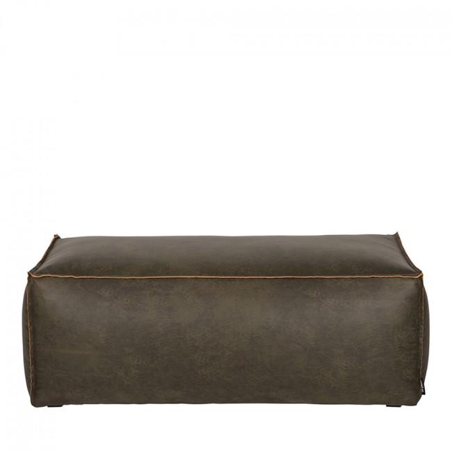 Pouf rectangulaire vintage Bronco