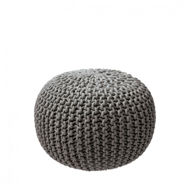 pouf tricot en maille original pas cher by drawer. Black Bedroom Furniture Sets. Home Design Ideas