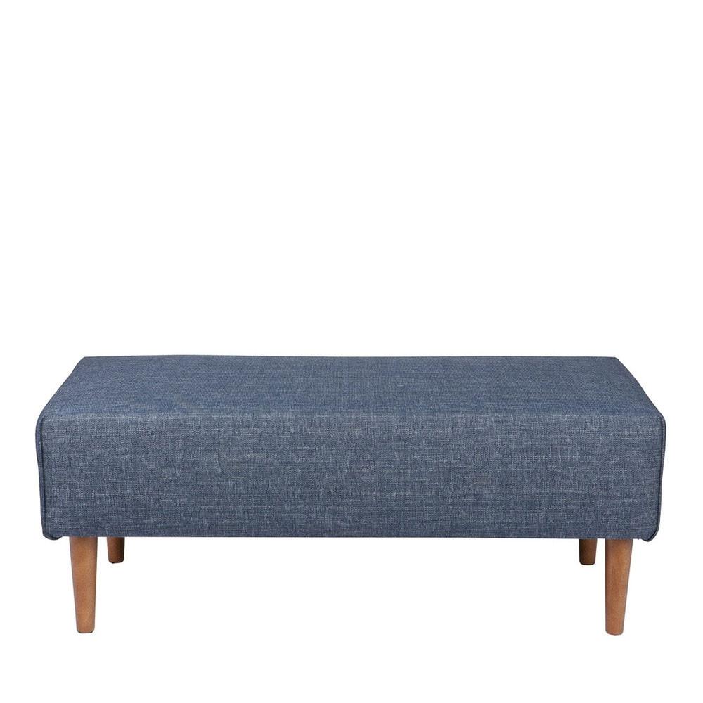 pouf tissu pieds en bois bjork by drawer. Black Bedroom Furniture Sets. Home Design Ideas