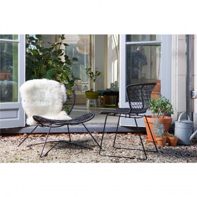 Chaise et fauteuil Quadro