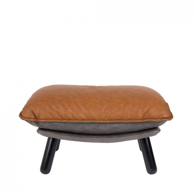 Pouf simili cuir Lazy Sack