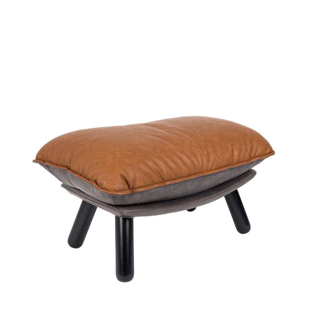 pouf simili cuir lazy sack zuiver. Black Bedroom Furniture Sets. Home Design Ideas
