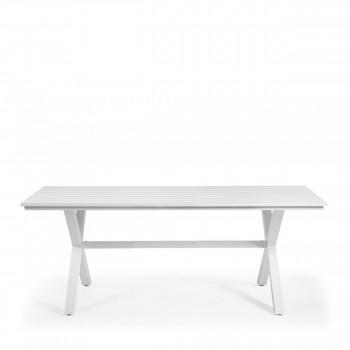 Table De Jardin Acier - Métal Par Drawer