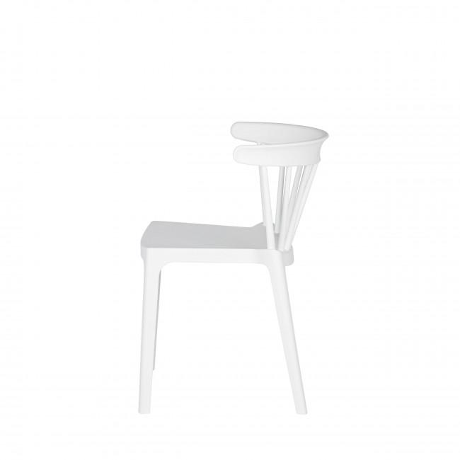 Lot de 2 chaises d'extérieur contemporaines Bliss