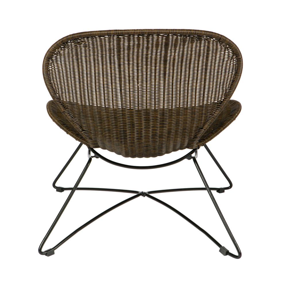 fauteuil d 39 ext rieur en corde tress e ole drawer. Black Bedroom Furniture Sets. Home Design Ideas