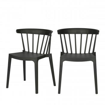 BLISS - 2 chaises d\'extérieur contemporaines