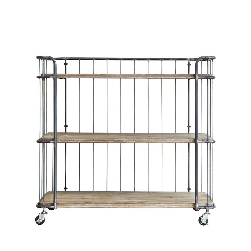 Chariot de rangement m tal medium rack par for Rack de rangement