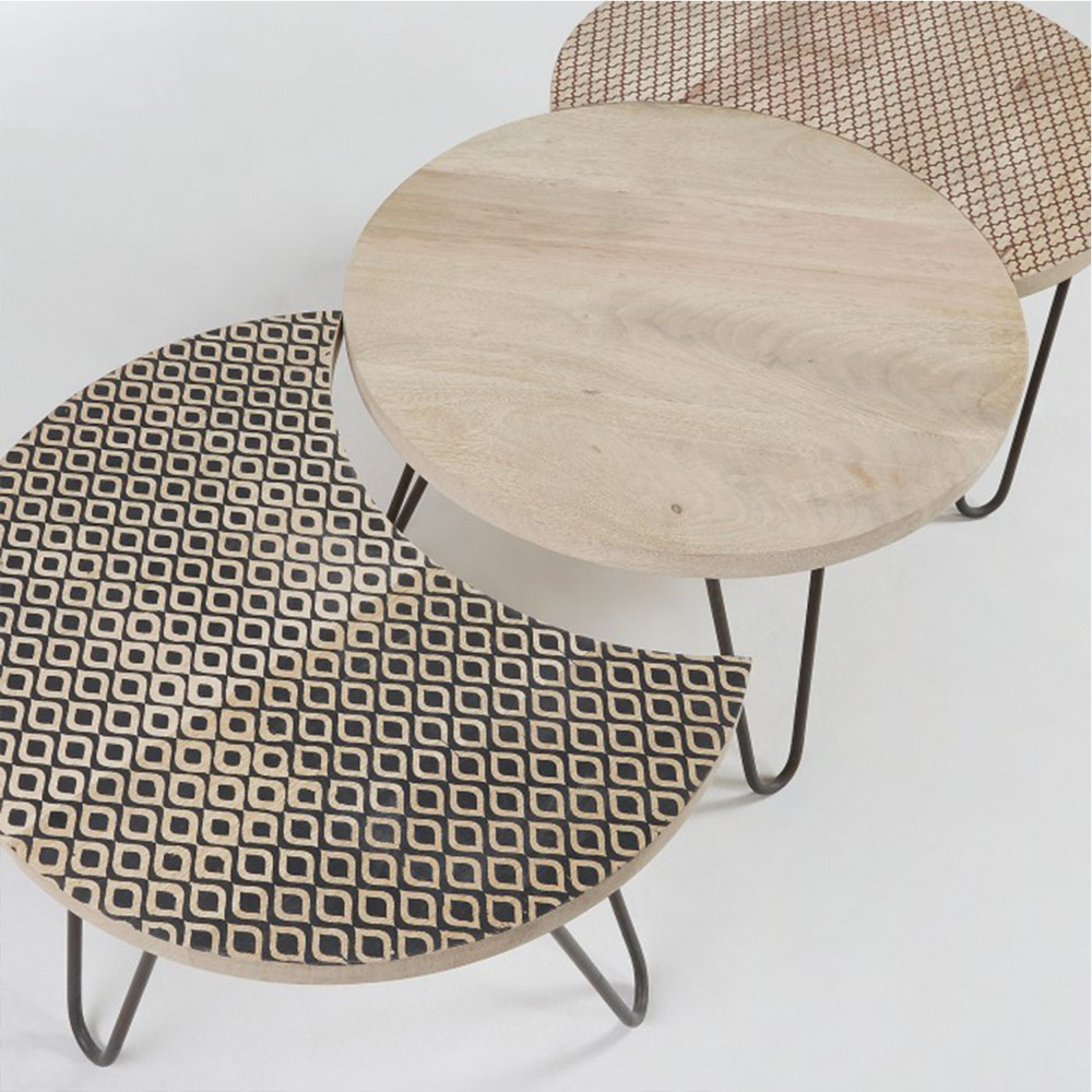 3 Tables Basses Modulables Houp