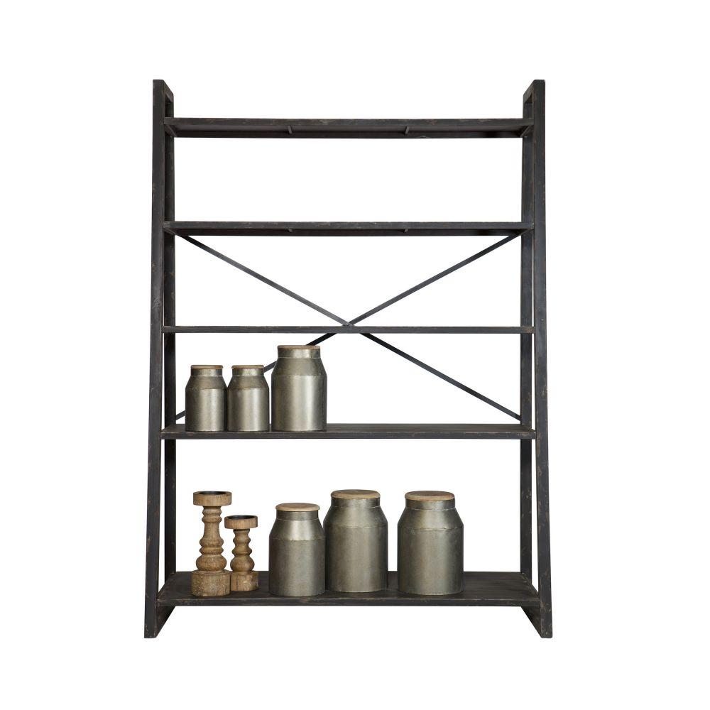 Etag re en m tal style industriel splurge - Etageres modulables en metal ...