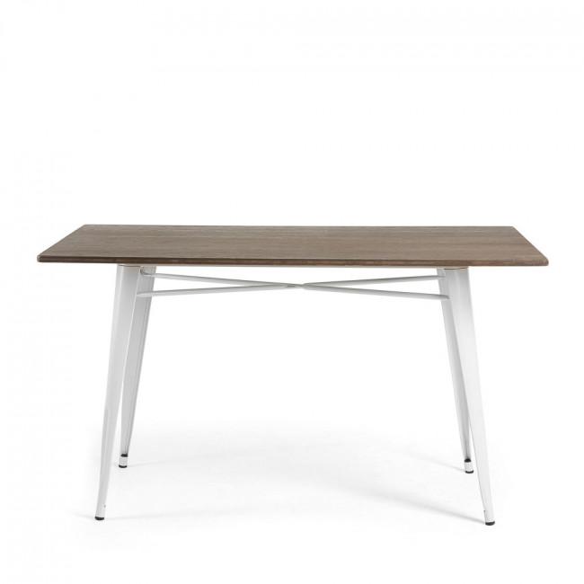 Table métal et bois indoor/outdoor 150x80 Mali