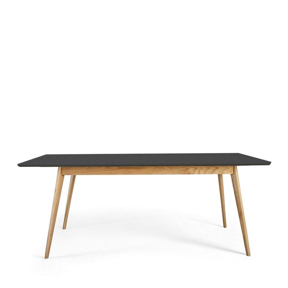 Table manger scandinave en bois skoll by drawer for Table a manger design